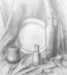 Изучение основ рисунка- продолжение- Как научиться рисовать