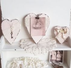 Sweet shabby chic valentines day decor ideas 25