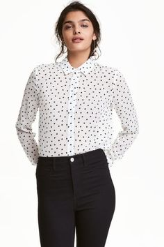 Camisa de mangas compridas | H&M