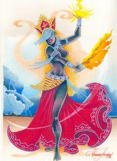 Oya Goddess, Goddess Warrior, Shango Orisha, Yoruba Orishas, Yoruba Religion, African Goddess, African Artwork, Funky Art, Universe Art