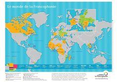 LA FRANCOPHONIE - FICHE PEDAGOGIQUE
