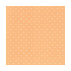 Peach Dots Paper 12x12 - Discount Scrapbook Supplies -... ❤ liked on Polyvore featuring backgrounds, patterns, - backgrounds, wallpaper, fillers, borders, texture, phrase, quotes and saying