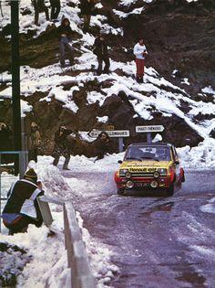 Jean Ragnotti /Jean-Marc Andriè (Renault 5 Alpine) 11ème du rallye de Monte-Carlo 1979 - L'Automobile mars 1979