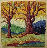 Karen Gaskin: rug hooking