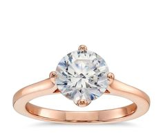 solitair ring rose - Google zoeken