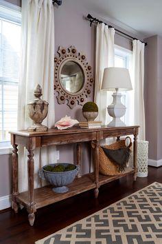 JWS Interiors: Portfolio | Entries | http://www.jws-interiors.com/p/portfolio-entries.html | World Market table / Vintage mirror