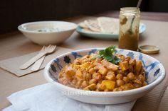 Hét recept voor makkelijke Kip Madras zonder pakjes of zakjes. Vergeet Knorr Wereldgerechten, maak je eigen currypasta en geniet van een heerlijke maaltijd!