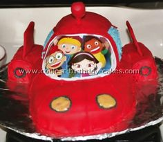 I think this may have to be my sons bday cake for his 2nd bday!