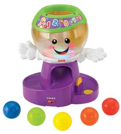 Fisher-Price Laugh & Learn Count and Color Gumball Machine Only $11.99!