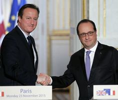 Cameron, Hollande Take Lead to Rally Support Against ISIS