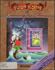 King's Quest II: Romancing the Throne (Amiga)