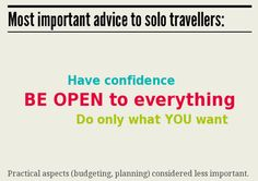 "A great infographic from our friend Sherry Ott over at www.ottsworld.com ""Why Women Travel Solo"""