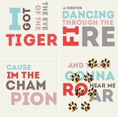 Roar By Katy Perry!! Looooove this song!!