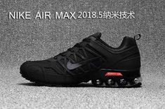 best service 05f94 d5e19 Online Nike Air Max 2018 All Black Running Shoes