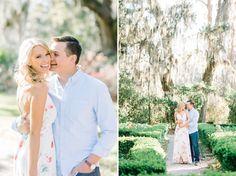 Magnolia Plantation engagement photos by Aaron and Jillian Photography!
