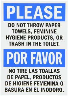 Bathroom Signs Do Not Flush bathroom sign septic system - do not flush toilet sign - pdf jpg