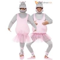 Adult's Ballerina Hippo Costume - Stag Party Stag Fancy Dress, Hippo Costume, Dress Ideas, Ballerina, Harajuku, Costumes, Party, Tops, Dresses