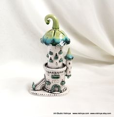Tower of tiny fairies by vavaleff.deviantart.com on @deviantART