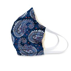 Made from 100% cotton, the non-medical face masks from Vera Bradley are soft, breathable and comfortable to wear. Vera Bradley Patterns, First Aid Beauty, Silver Spring, College Fashion, Cute Faces, Top Pattern, Beautiful Bags, Paisley Print, Brand New