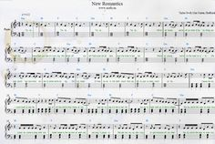 Taylor Swift — New Romantics Piano Sheets from 1989 album. My transcription with lyrics and chords