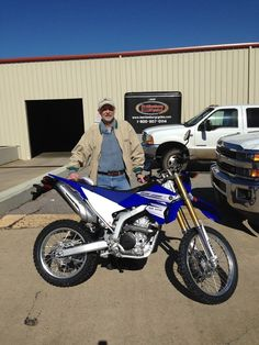 Thanks to Larry Davis from Hattiesburg MS for getting a 2016 Yamaha WR250R at Hattiesburg Cycles