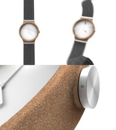 OWO watch using raw materials by Tim Defleur