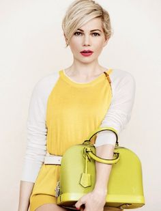 Ad Campaign : Michelle Williams for Louis Vuitton spring 2014