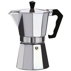 Kabalo 150ml (2-cup) Espresso Stove Top Coffee Maker - Continental Moka Percolator Pot Aluminium