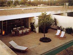 Souto de Moura, Casas patio en Matosinhos