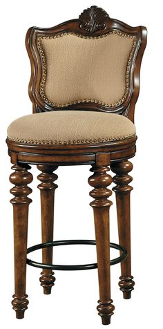 French Country Bar Stools With Rush Seats French