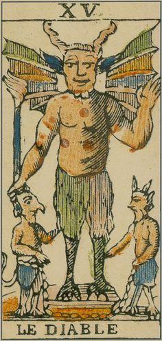 XV. The Devil: Ancient Tarot of Bologna