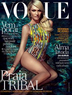 Vogue's Covers: Candice Swanepoel