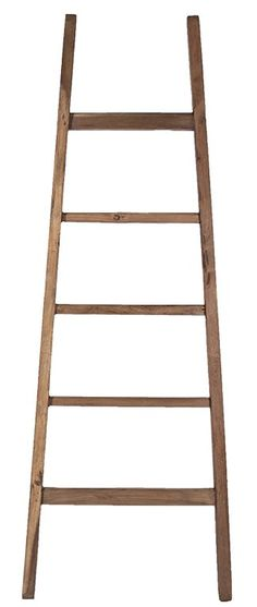 "Teak Arch 21"" W x 71"" H Decorative Ladder"