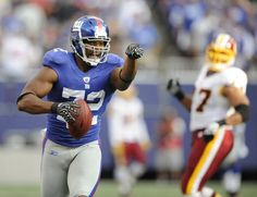 Osi Umenyiora of the New York Giants