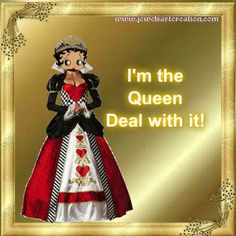 ♥ Queen Of Everything, Queen Bees, Betty Boop, My Girl, Love Her, Ms, Disney Princess, Disney Princesses, Disney Princes