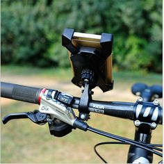 Bicycle Bike Phone Holder Handlebar Clip Stand Mount Bracket For iPhone Samsung Cellphone GPS Cell Phone Mount, Cell Phone Holder, Bike Holder, Buy Bicycle, Google Nexus, Phone Stand, Rear View Mirror, Iphone Models, Iphone 4s