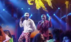 """Watch Tyler, The Creator Bring the Party & Perform """"911"""" on 'Colbert'  http://feedproxy.google.com/~r/highsnobiety/rss/~3/cHnZHwLcQ8E/"""