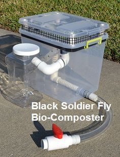 BSF bucket composter v2.1 » Black Soldier Fly Blog~ Great to feed chickens