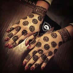 Always a pleasure to see my brides as newly weds and do henna on them.