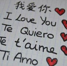 I LOVE YOU ♥ TANTE IDEE DI IMMAGINI PER DIRE ♥ TI AMO ♥ - CheLaVitaContinua