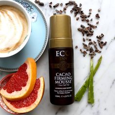 NEW Cacao Firming Mousse is finally here!  — *Delivers a luxurious deep bronze tan in one application  *Light tan in one hour or stunning deep bronze tan in just four hours   *Certified organic coffee, blood orange, ginger & mandarin helps reduce the appearance of cellulite and promotes smooth skin  To celebrate this gorgeous product, we are offering 10% off the original price while stocks last!