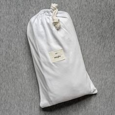 Fitted sheet made from very soft jersey in pure white colour. The natural fabric allows the skin to breathe and bed linen is as pleasant to the touch as your beloved t-shirt. You'll love it from the first touch. Cotton Bedding, Linen Bedding, Pure White, Bed Linen, Breathe, Touch, Colour, Pure Products, Natural