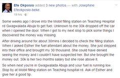 Welcome to Ejudiva's blog: A female fuel attendant returned her customer's mi...