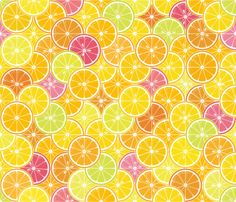 Citrus Circus fabric by dyessdesign on Spoonflower - custom fabric