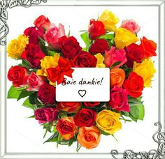 Colorful roses bouquet in heart shape with gift card on white background. Sample text 8 March Women's Day Please look here for more Flower pictures: Please look Happy Woman Day, Happy Women, Happy Mothers Day, Women's Day 8 March, 8th Of March, Valentines Day Pictures, Holiday Pictures, Baie Dankie, Happy Birthday Video