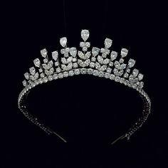 Grace Kelly Monaco Princess wearing tiara