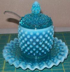 Blue Opalescent Jam Set
