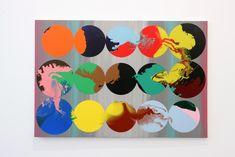 Bernard FRIZE, Synchronia, 2004, acrylique et résine sur toile, 130 x 175 cm. © Adagp, Paris, 2007