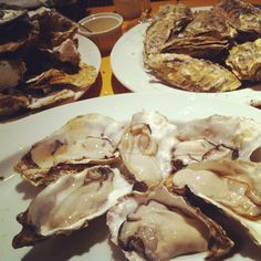 oysters--my fave
