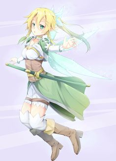 Leafa by 日高こーよー
